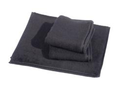 Gastendoekjes A&R 30x50 cm zwart set 6 stuks