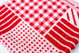 Keukendoek (handdoek) Elias Farmhouse red