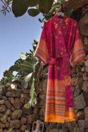 Kimono Bassetti Porticciolo V1 kleur fuchsia maat S/M en L/XL