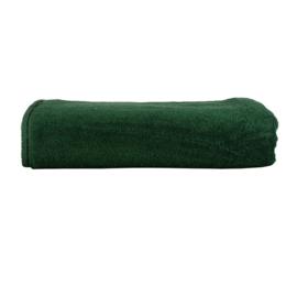 A&R strandlaken badstof 100x210 cm donkergroen badstof
