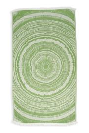 Kayori Nobu Olijfgroen Hamamdoek Bamboo 100x180