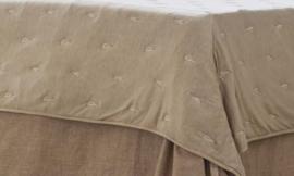 Arte Pura sprei Malia leverbaar in diverse kleuren 270x270 cm