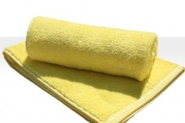 Saunalaken A&R 100x180 cm geel badstof