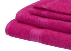 Gastendoekjes Jorzolino 30x50 cm kleur hot pink