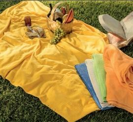 2 persoons Strandlaken 160x220 cm kleur geel of limegroen