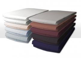 Damai hoeslakens voor matras met bi-inkeping/enkele split extra hoge hoek (40) katoenen satijn voor matrashoogte van 25 t/m 35 cm