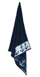 Keukendoek (handdoek) Elias Anchor blauw