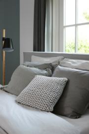 House in Style kussen Birmingham 40x60 cm kleur pebble