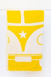 Strandlaken  Arkhipelagos Kombi Adventure geel 100x180 cm