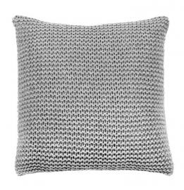 Kussen House in Style Devon grijs 50x50 cm 80% wol 20% polyester