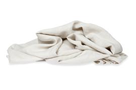 Kayori dekbedovertrek bovenkant luxe linnen onderkant katoenen percal kleur naturel