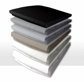 Hoeslaken Damai  bladmaat double jersey hoekhoogte 30 cm geschikt voor matrashoogte van 18 t/m 25 cm