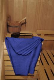 A&R saunalaken 100x210 cm true blue badstof