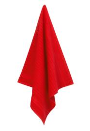 Keukendoek (handdoek) Elias Solid rood