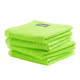Vaatdoek DDDDD basic clean bright green