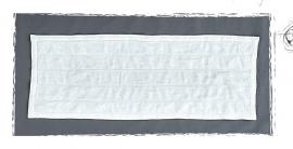 Arte Pura Gelso badmat 60x160 cm in meerdere kleuren leverbaar