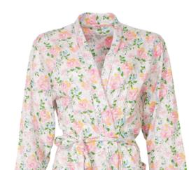 Tenderness damesbadjas single jersey flower S t/m XXL