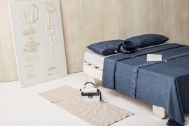 Dekbedovertrek Arte Pura Bacio linnen met knopen diverse kleuren leverbaar  met of zonder kant lits-jum vanaf