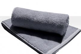 Saunalaken A&R 100x180 cm antracietgrijs badstof