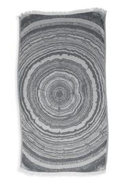 Kayori Nobu Antracite Hamamdoek Bamboo 100x180