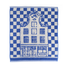Keukendoek (handdoek) Bunzlau Castle Canal House royal blue