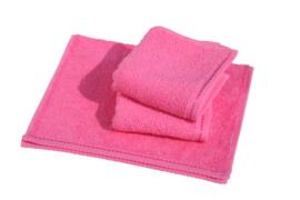 Gastendoekjes A&R 30x50 cm pink set 6 stuks