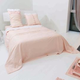 Dekbedovertrek Arte Pura Cioccolato  linnen met knopen meerdere kleuren met of zonder kant 1 persoons vanaf