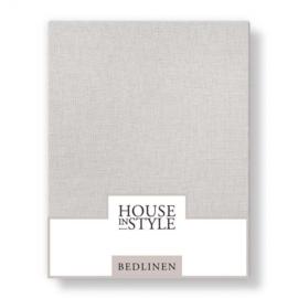 House in Style hoeslaken Bilbao katoen percal kleur marble