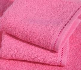 Saunalaken A&R 100x180 cm pink badstof