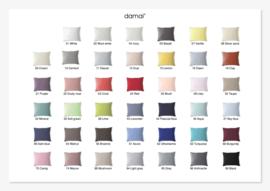 Dekbedovertrek Damai nightkiss katoen leverbaar in35 uni kleuren