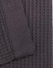 Saunalaken Taubert thalasso 75x200 cm wafelkatoen antraciet