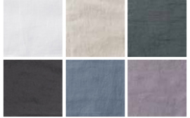 Passion for Linen bedcover Amy