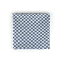 Bunzlau Castle tafellaken blauw checkered 140x140