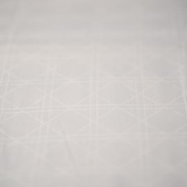 Kayori Shizu dekbedovertrek kleur Wit Katoensatijn