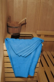 A&R saunalaken 100x210 cm aqua badstof