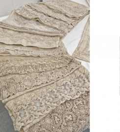 Arte Pura laken laguna met of zonder kant 100% fijne linnen diverse kleuren leverbaar vanaf