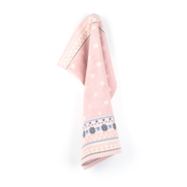 Keukendoek (handdoek) Bunzlau Castle Fresh pink