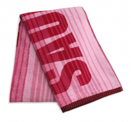 Saunalaken kleinmann Nordic 85x200 cm rood/roze Art 147 2 01