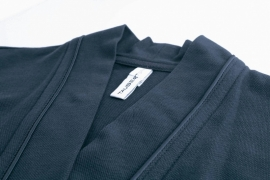 Taubert badjas cruise korte jersey zomer badjas  kleur navy  36 t/m 48