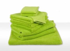 Gastendoekjes A&R 30x50 cm lime groen set 6 stuks
