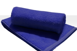 A&R strandlaken badstof 100x210 cm true blue badstof