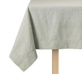 Tafelkleed ontbijtlaken Elias Noble 160x250 cm of 160x350 cm, green half linnen