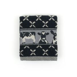 Keukendoek (handdoek) Bunzlau Castle zwart koe