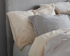 House in Style dekbedovertrek Trapani organic katoen  meerdere kleuren leverbaar maat lits-jum