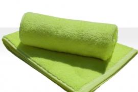 Saunalaken A&R 100x180 cm lime groen badstof