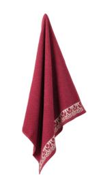 Keukendoek (handdoek) Elias Tile pink