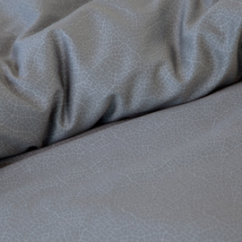 Damai dekbedovertrek Silt  katoen satijn kleur graphite Lits/jum.