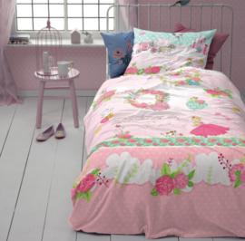 Dekbedovertrek Cinderella Buttercup kleur pink