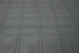 Kayori Shizu dekbedovertrek kleur Antracite Katoensatijn