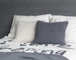 Kussen House in Style Devon kleur antraciet 50x50 cm 80% wol 20% polyester